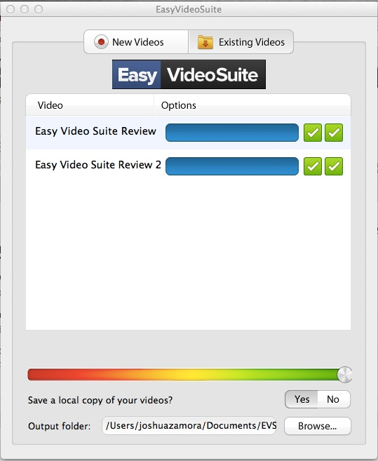 Easy Video Suite Desktop App